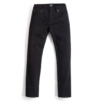 Mens Jeans Made in USA - Solid Black Denim | Todd Shelton