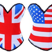 Patriotic Flag Corsets from CherryKreations21