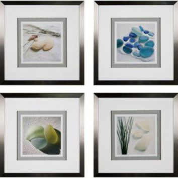 Phoenix galleries sea glass framed prints from for Phoenix glass decorating co