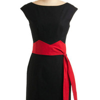 Seriously Smitten Dress | Mod Retro Vintage Solid Dresses | ModCloth.com