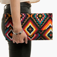 Your Place or Mayan Clutch $30