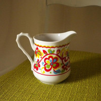 CUTE Vintage Sango One World Creamer by beppiebags on Etsy