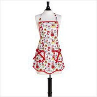 Jessie Steele Vintage Kitchen Bib Ava Apron