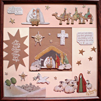 Custom Photo Frame - Nativity