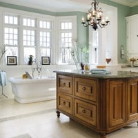 Traditional Bathrooms from Peter Ross Salerno : Designers&#x27; Portfolio 4375 : Home &amp; Garden Television