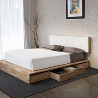 LAX Series Storage Platform Bed