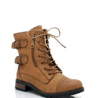 lace-up-ankle-boots BLACK BROWN CHESTNUT - GoJane.com