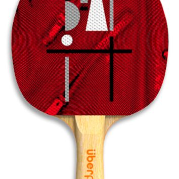 Beat It Ping Pong Paddle by Uberpong