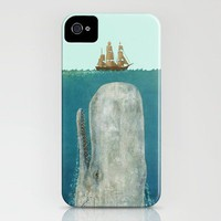 The Whale  iPhone Case by Terry Fan | Society6