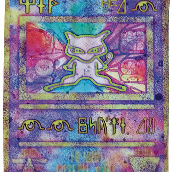 Ancient Mew Shower Curtain - One
