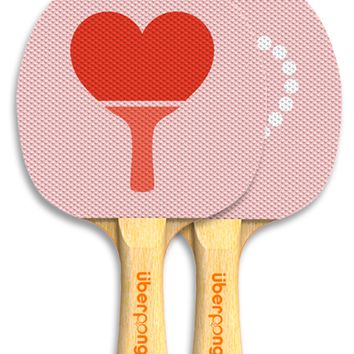 Paddle Love Ping Pong Paddle by Uberpong