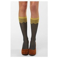Hansel From Basel Strawberry Cuff Knee High Sock from Urban Outfitters | Beso.com