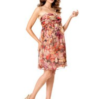 A Pea in the Pod Collection: Strapless Removable Straps Included Maternity Dress