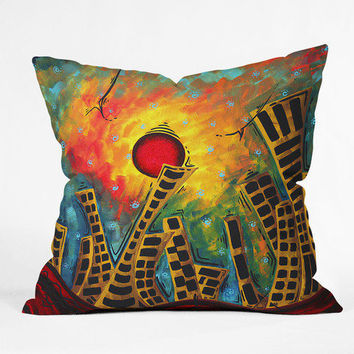 DENY Designs Home Accessories | Madart Inc. Glimmer Of Hope Throw Pillow