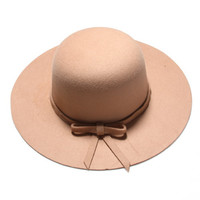 Wide brim Hat- Beige