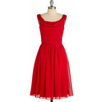 Red-y to Dance Dress - Shellys of London - Polyvore