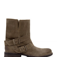 MANGO - SHOES - Suede buckles ankle boots