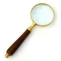 "Amazon.com: 8"" Old Fashioned Magnifying Glass: Magnifier: Ki... - Polyvore"
