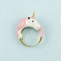 Pink Unicorn Ring