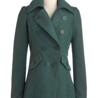 Get a Feel Forest Coat | Mod Retro Vintage Coats | ModCloth.com