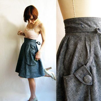 Limited 25 sale  Heartland cargo wrap skirt by PyxusPassionProject