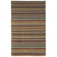 JLA Rugs Newport Easton Stripe Charcoal Contemporary Rug - 2155/47 - Striped Rugs - Area Rugs by Style - Area Rugs