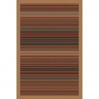 LA Rugs Art Dark Stripe Contemporary Rug - 4243/36 - Striped Rugs - Area Rugs by Style - Area Rugs