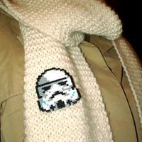 May the 4TH 10% OFF Star Wars Stormtrooper Pin Fan Art Brooch or Keychain Accessory