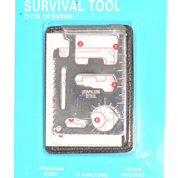 Mini Manly Survival Tool - PLASTICLAND