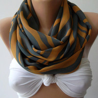 trendscarf   Infinity Scarf Loop Scarf Circle Scarf - Elegant - It made with good quality chiffon fabric....Super Loop