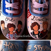 Custom One Direction Shoes