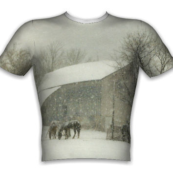 'Winter Storm' photo t-shirts by Lyle1958.