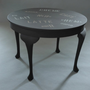 Vintage Restored Cafe Table - GHOST FURNITURE