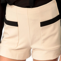 High Rise Mod Shorts