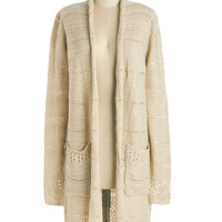 ModCloth Long Long Sleeve Style is Second Nature Cardigan