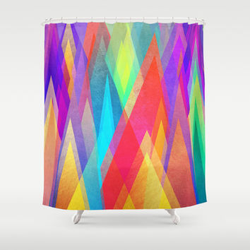 Colorland Shower Curtain by Elisabeth Fredriksson