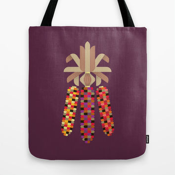 Indian Corn Tote Bag by Christopher Dina