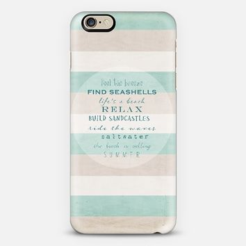 build sandcastles iPhone 6 case by Sylvia Cook | Casetify