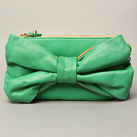 The Mayu Bow Bag in Green