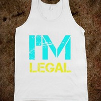 I'm Legal Tank - New Row