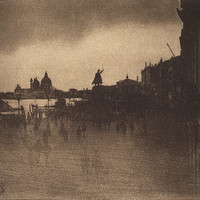 James Craig Annan: The Riva Schiavoni, Venice (49.55.274) | Heilbrunn Timeline of Art History | The Metropolitan Museum of Art