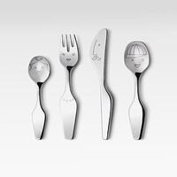 Georg Jensen - The Twist Family Kids 4-Pc. Cutlery Set