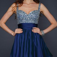 Lara Design Sequined Bodice Dress 21547 - Any Occasion Dresses - Dresses