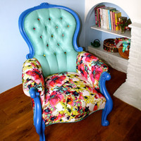 Fabulous Floral Armchair