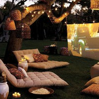 Backyard Movie Screening