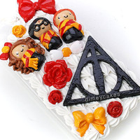 Harry Potter and the Deathly Hallows Themed 3D Phone Case (Decoden)