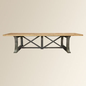 Hancock Large Dining Table Arhaus From
