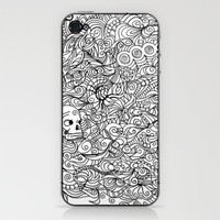 MEMENTO MORIARTY iPhone & iPod Skin by Allison Kolarik | Society6