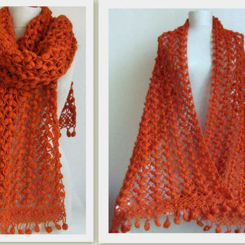 Crochet Fall Shawl | Welcome to the Craft Yarn Council