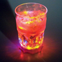 Flashing Lights Plastic Cocktail Glass